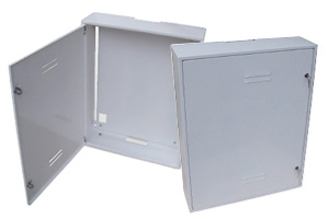 Steel Case for Shared TV Aerials